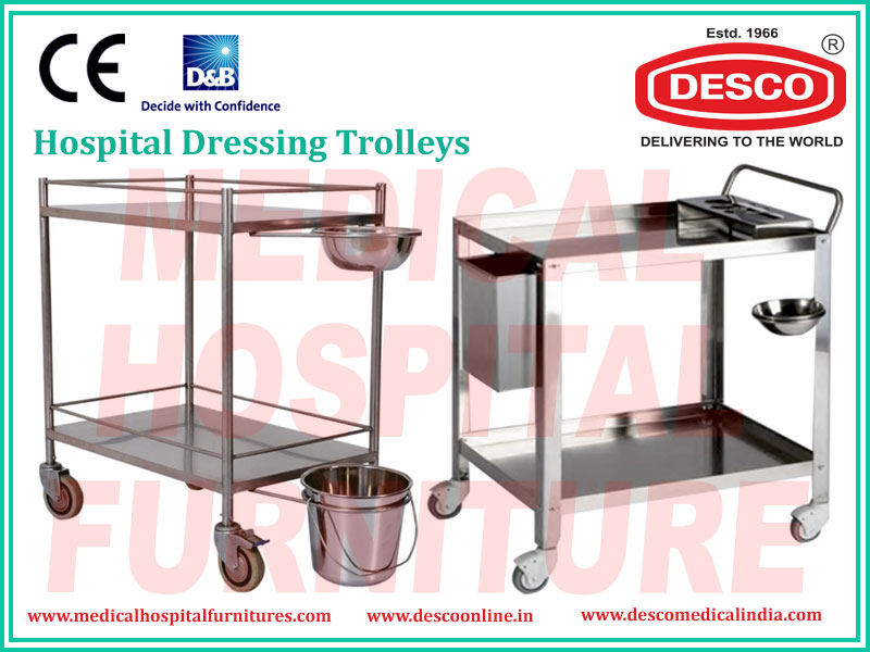 Hospital Dressing Trolleys
