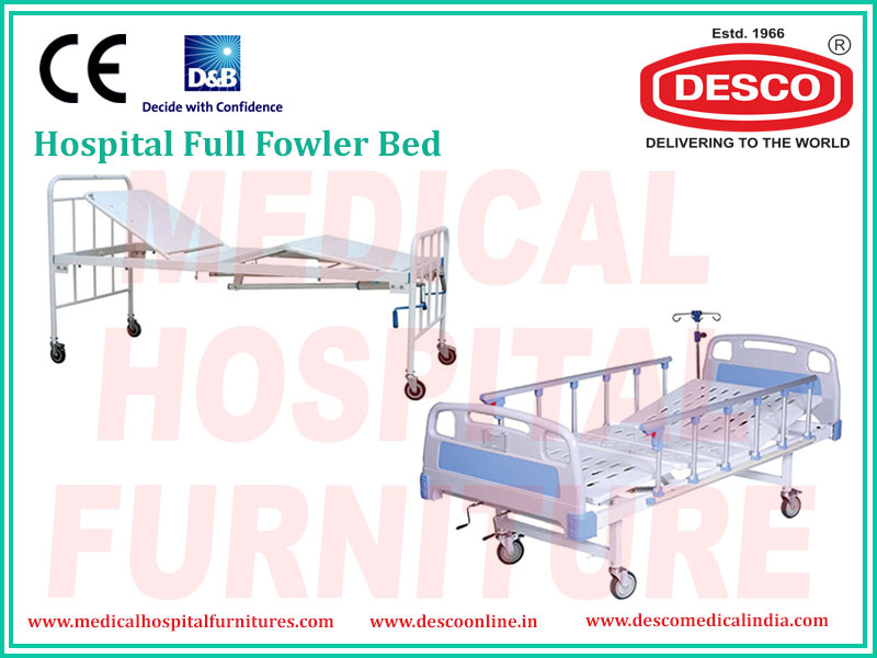 Hospital Full Fowler Bed