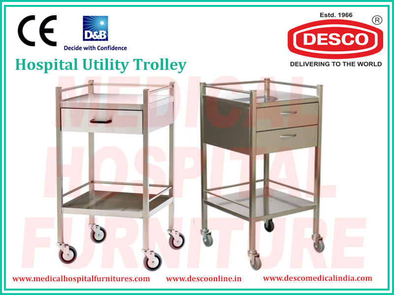 Medical Utility Trolley