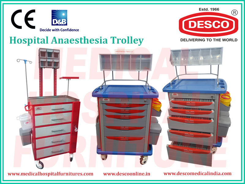 Hospital Anaesthesia Trolley
