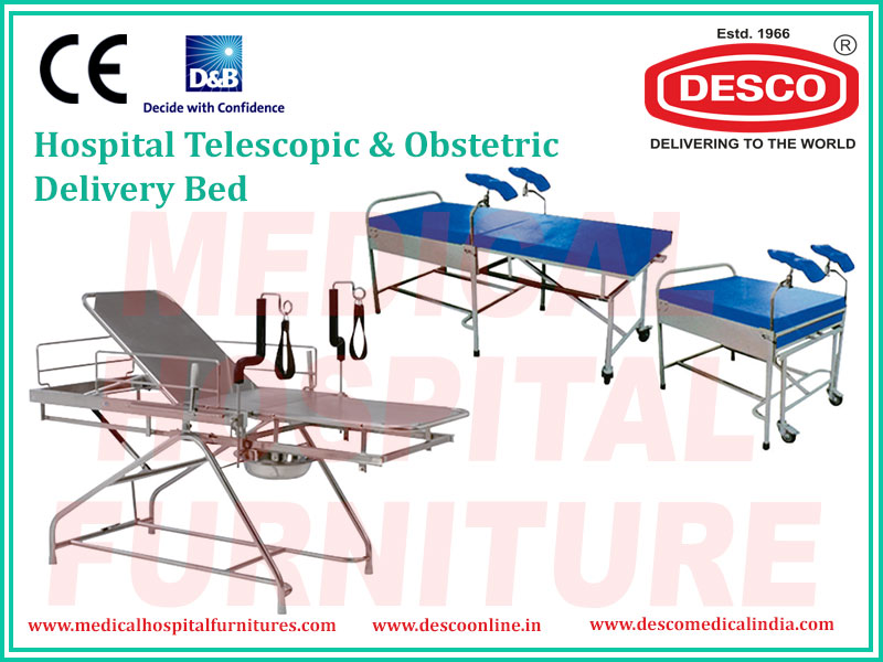 TELESCOPIC & OBSTETRIC DELIVERY BED