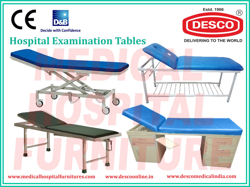 Hospital Examination Couch Tables