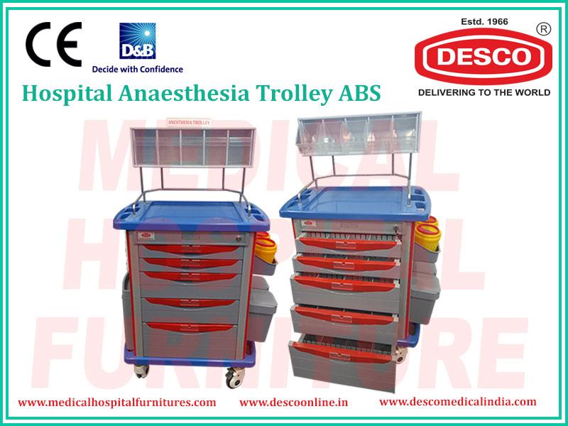 anaesthesia trolley india
