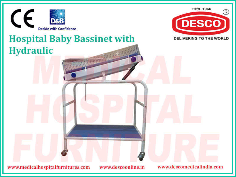 baby bassinet with hydraulic