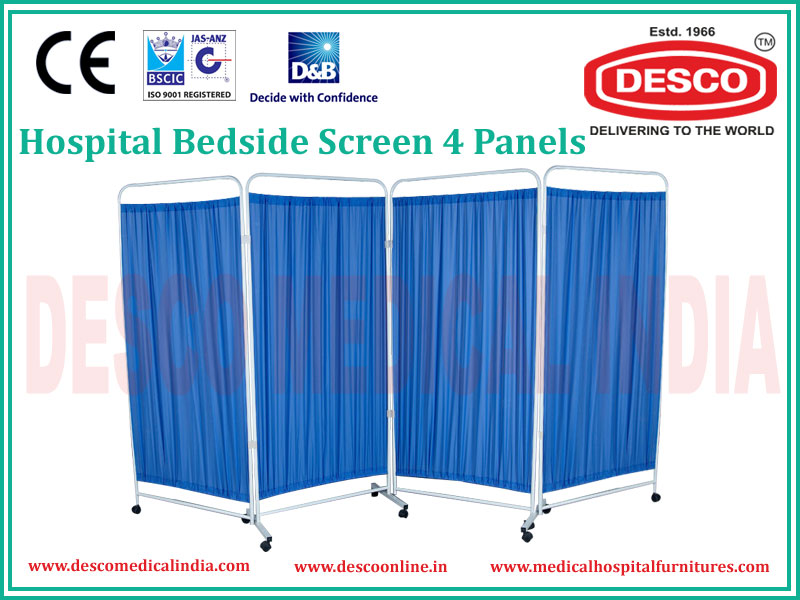 Bedside Screen 4 Panels