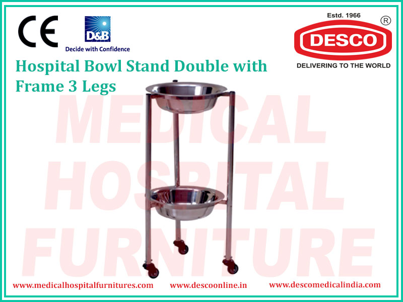 BOWL STAND DOUBLE TWO TIER