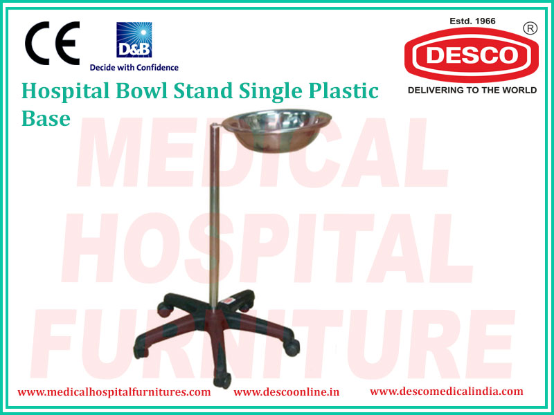 BOWL STAND SINGLE PLASTIC