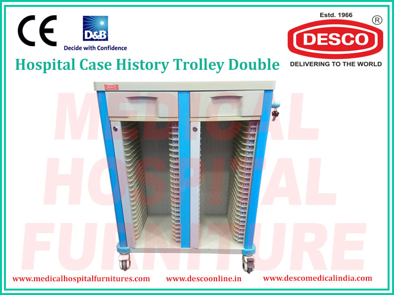 CASE HISTORY TROLLEY DOUBLE