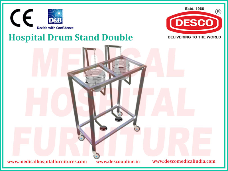 DOUBLE DRUM STAND