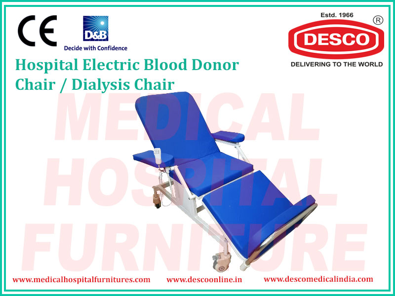 ELECTRIC BLOOD DONOR CHAIR / DIALYSIS CHAIR