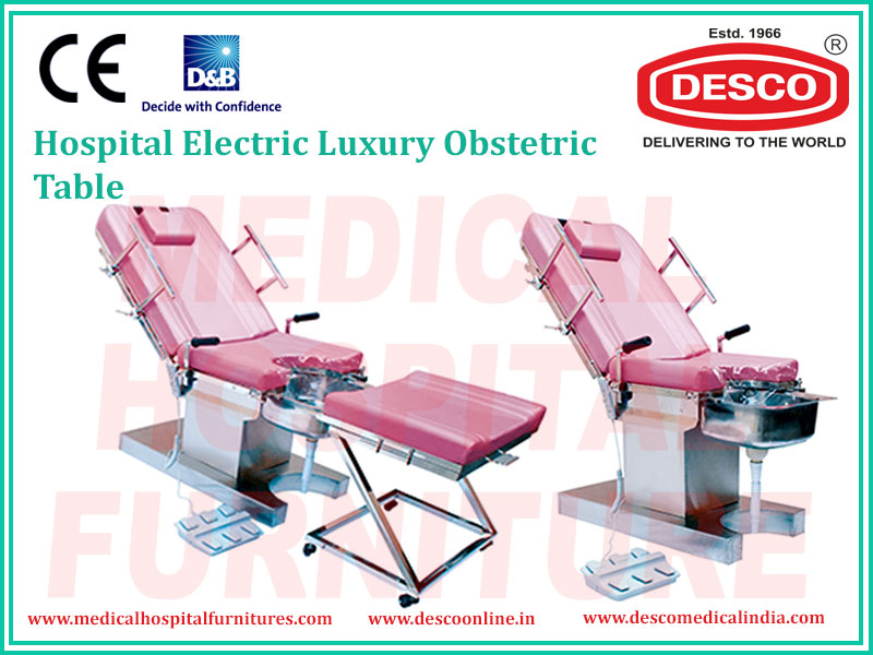 ELECTRIC LUXURY OBSTETRIC TABLE