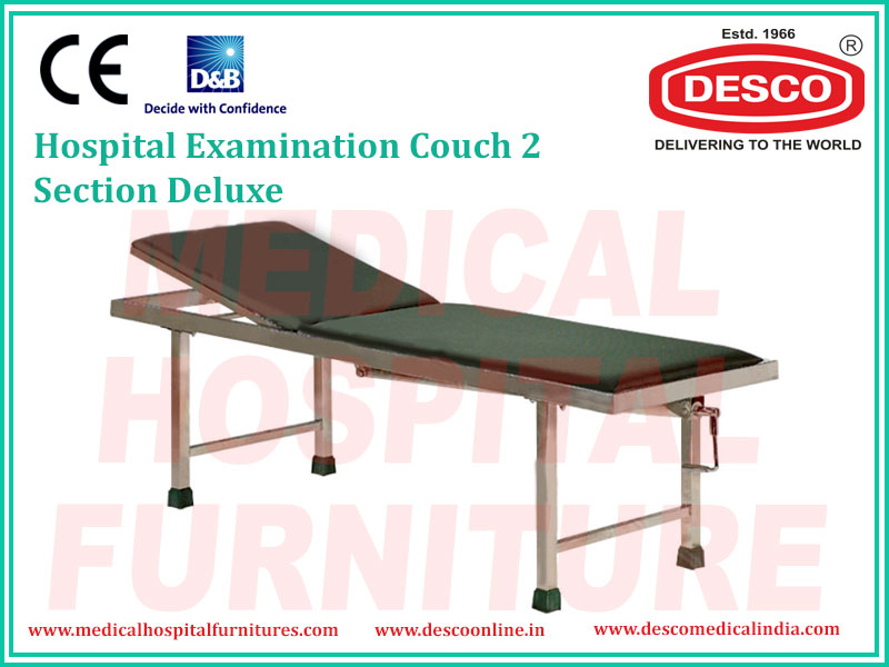 EXAMINATION COUCH 2 SECTION DELUXE