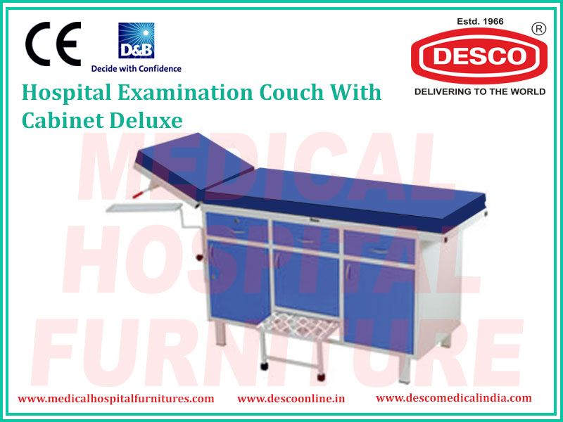 EXAMINATION COUCH WITH CABINET
