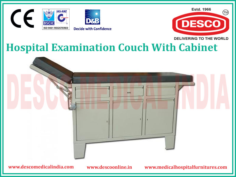 CABINET EXAMINATION COUCH