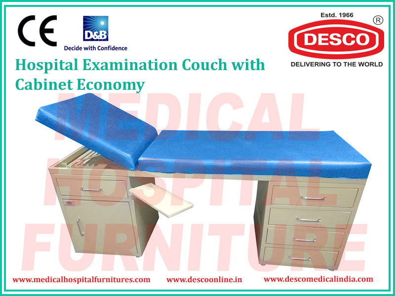EXAMINATION COUCH WITH CABINET ECONOMY