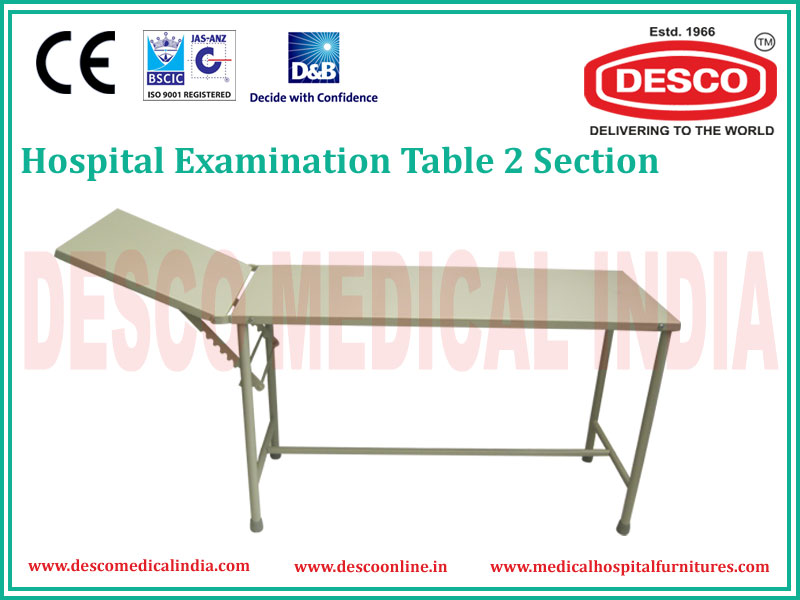 2 SECTION EXAMINATION TABLE