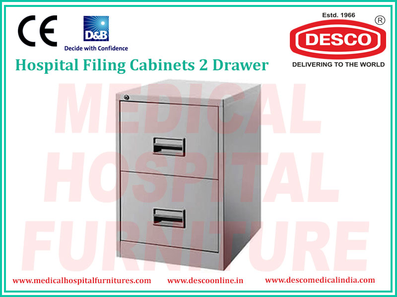FILING CABINETS 2 DRAWER