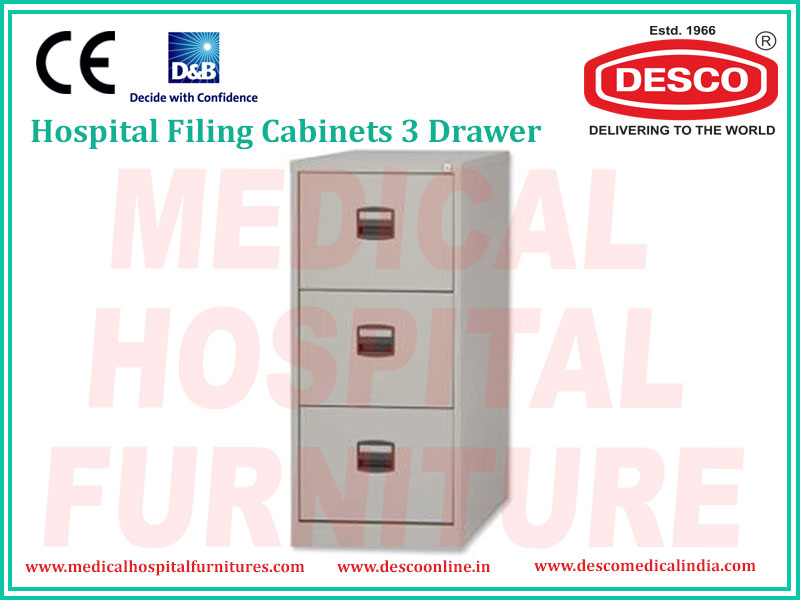 FILING CABINETS 3 DRAWER