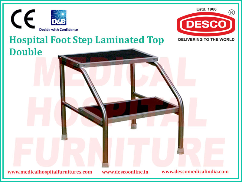 DOUBLE LAMINATED TOP FOOT STEP
