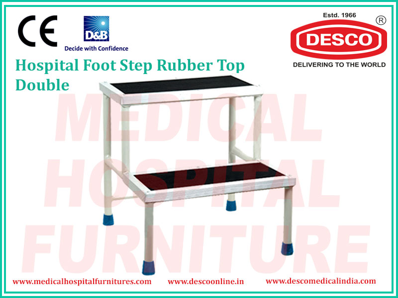DOUBLE RUBBER TOP FOOT STEP