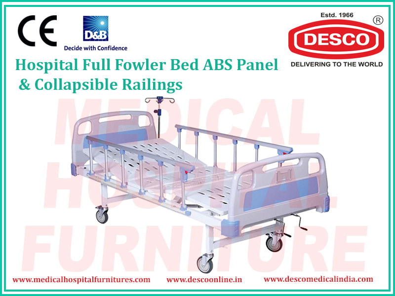 FULL FOWLER BED ABS PANEL COLLAPSIBLE RAILINGS