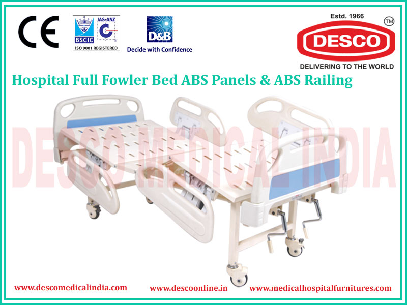 Full Fowler Medical Side Railing Bed Manufacturers & Exporters India