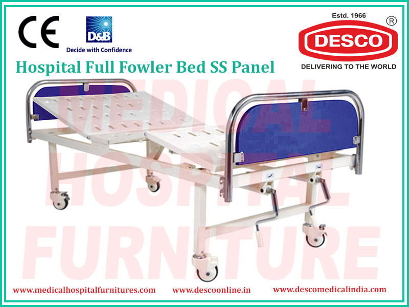 FULL FOWLER BED SS PANEL