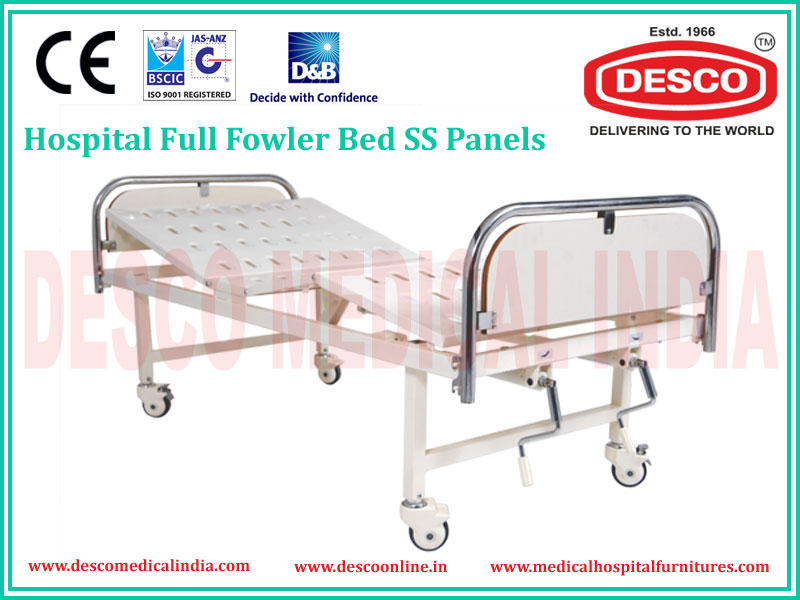 FULL FOWLER SS PANEL BED