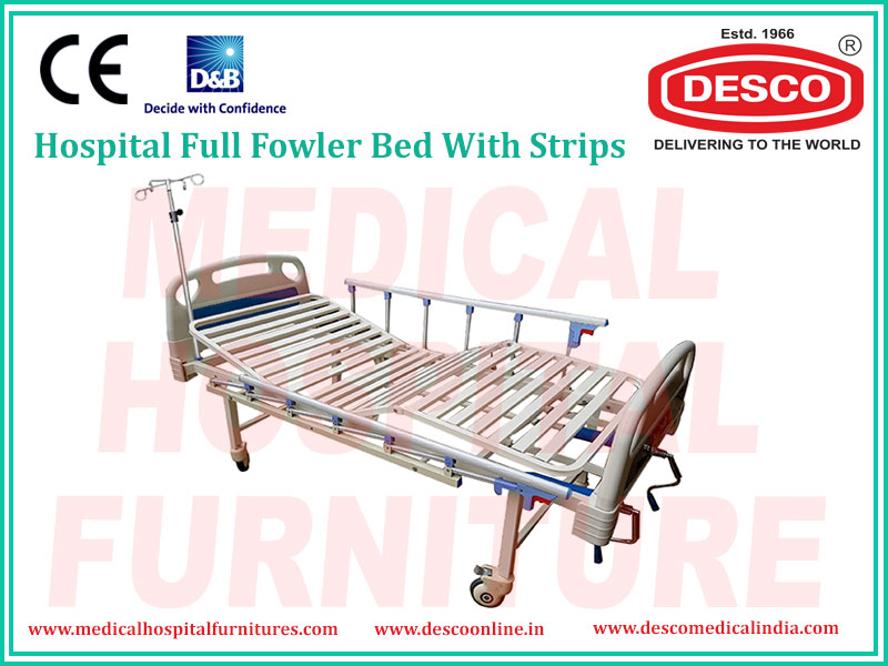 FULL FOWLER BED WITH STRIPS