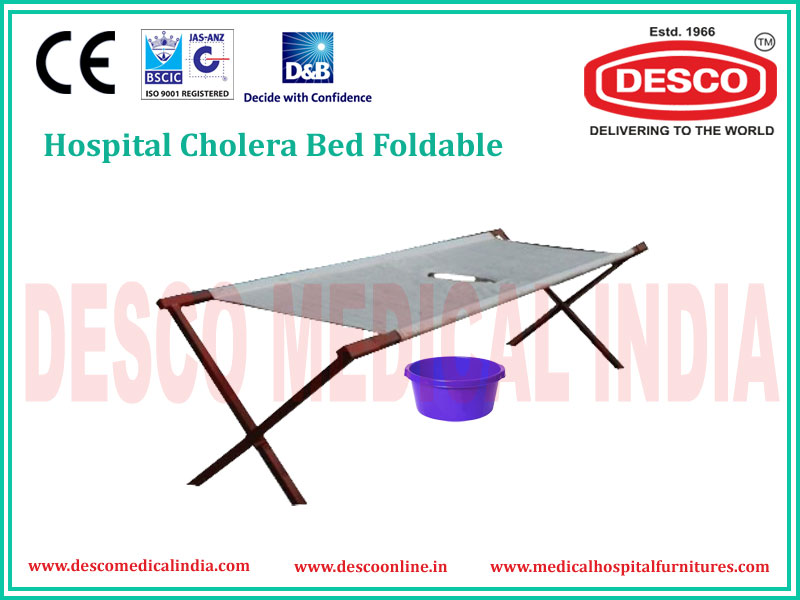 CHOLERA BED FOLDABLE