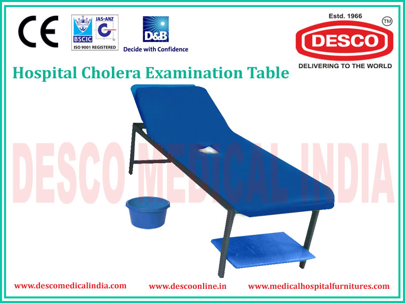 CHOLERA EXAMINATION TABLE