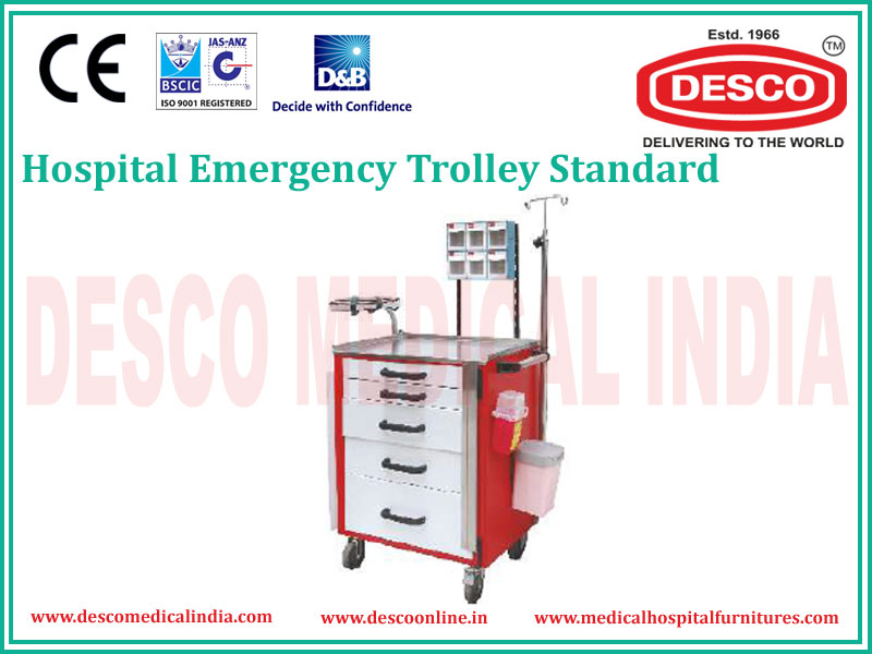 STANDARD EMERGENCY TROLLEY
