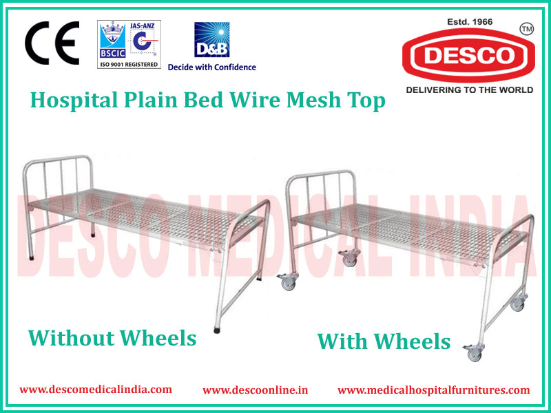 PLAIN WIRE MESH BED