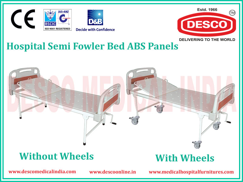 SEMI FOWLER ABS PANEL BED