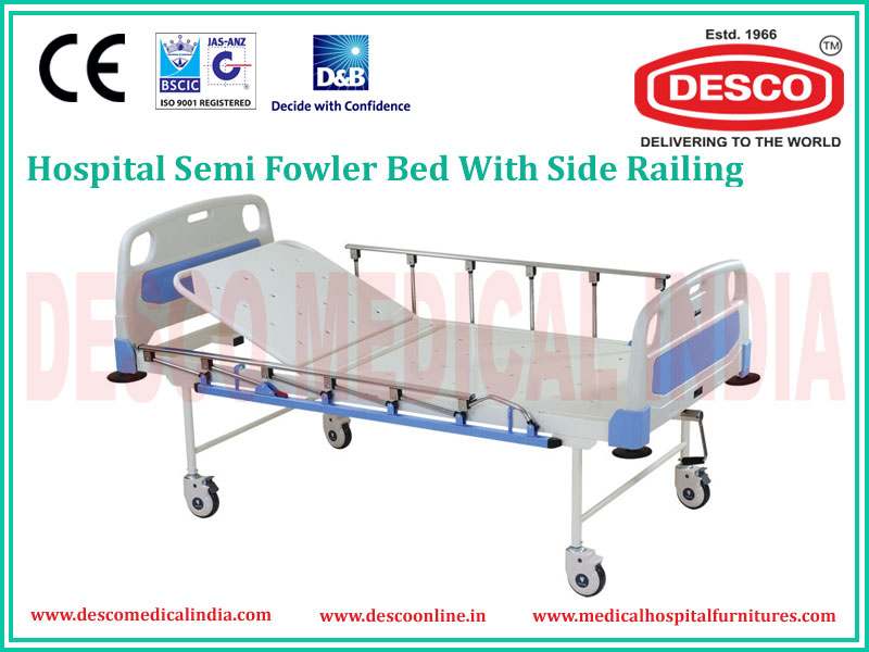 SEMI FOWLER WITH SIDE RAILING BED