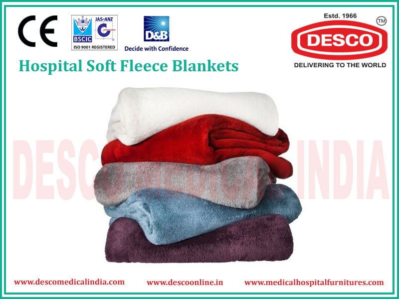 HOSPITAL SOFT FLEECE BLANKET