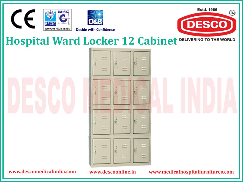 WARD LOCKER 12 CABINET