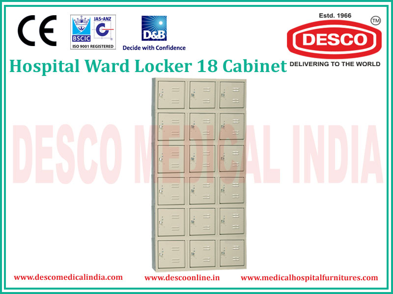 WARD LOCKER 18 CABINET
