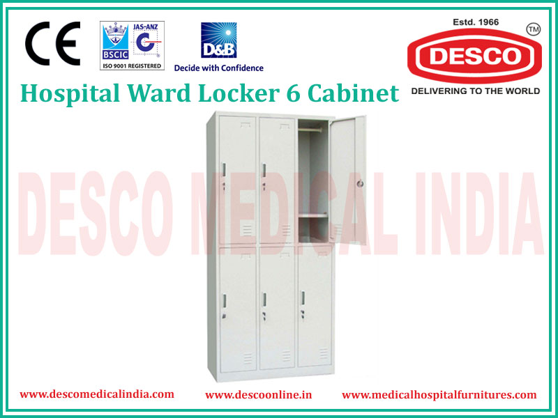 WARD LOCKER 6 CABINET