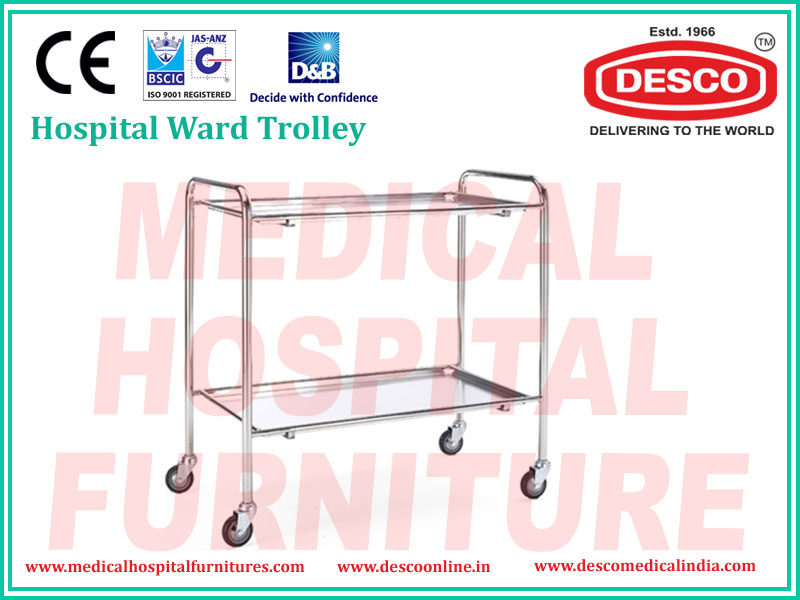 HOSPITAL WARD TROLLEY