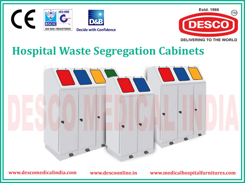 WASTE SEGREGATION CABINET