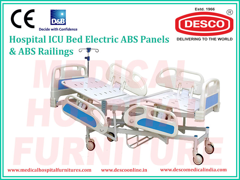 ICU BED ELECTRIC ABS PANELS & ABS RAILINGS