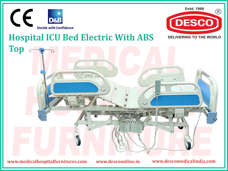 ICU BED ELECTRIC WITH ABS TOP