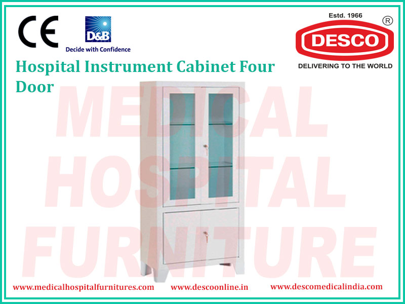 INSTRUMENT CABINET FOUR DOOR