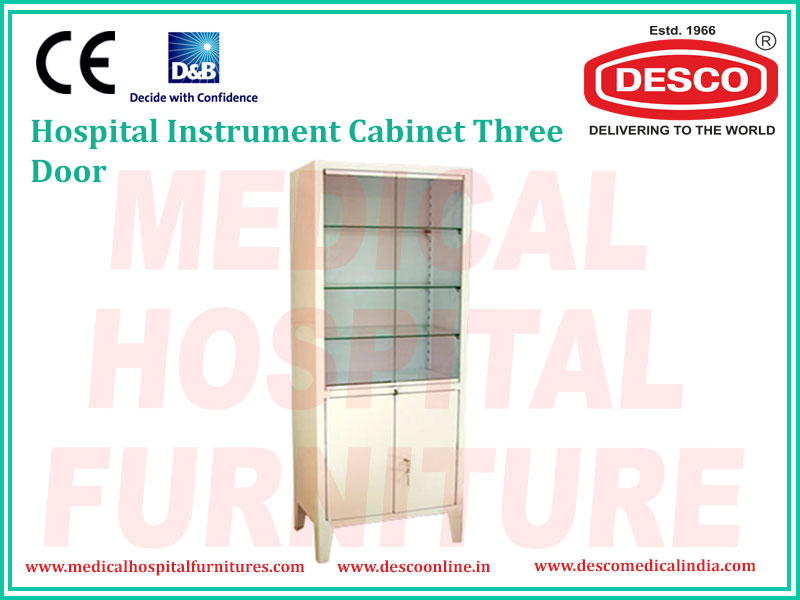 INSTRUMENT CABINET THREE DOOR