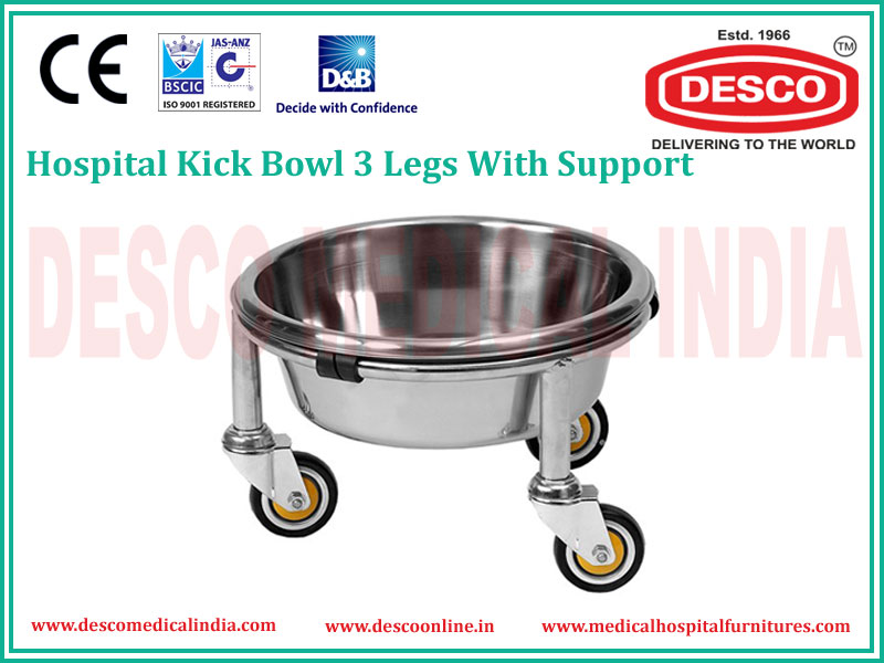 3 LEGS WITH SUPPORT KICK BOWL