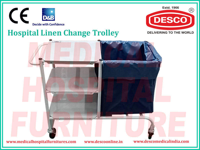 LINEN CHANGE TROLLEY