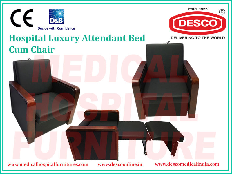 LUXURY ATTENDANT BED CUM CHAIR