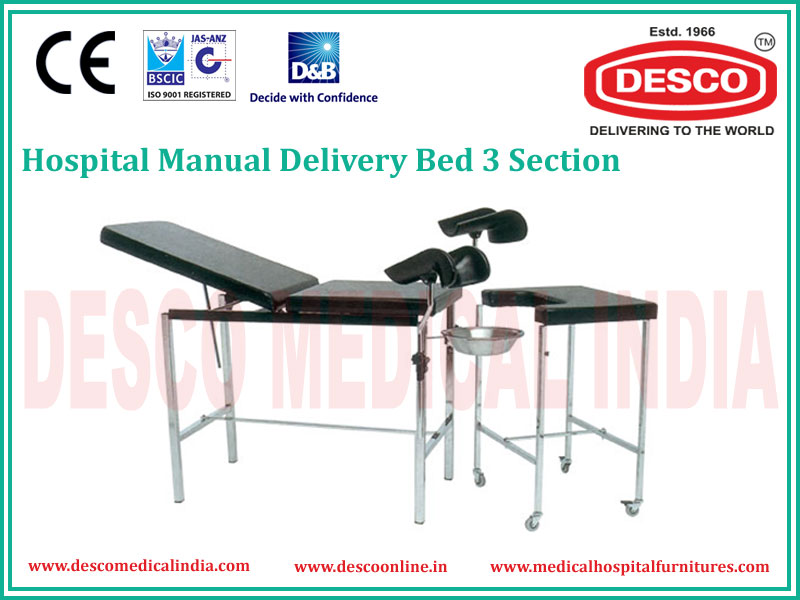 3 SECTION DELIVERY BED