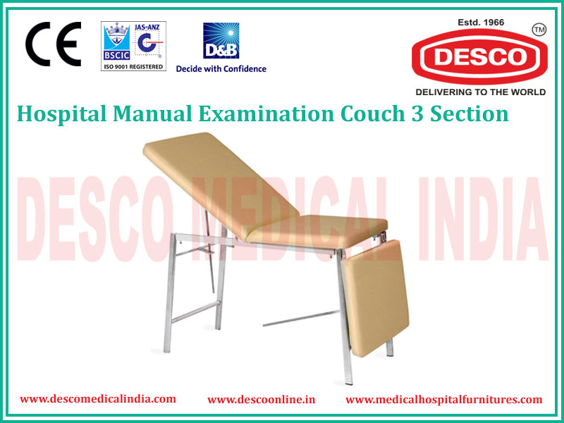 3 SECTION EXAMINATION COUCH